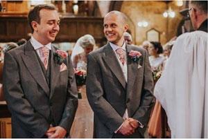 best man at a wedding