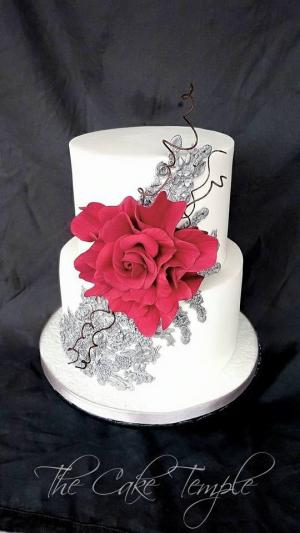 Wedding cake from The Cake Temple
