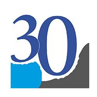 Euromedia 30 year celebrate logo