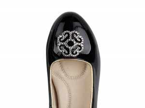 alternative to high heels shoes for brides from Bonessi Ballerinas