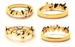 anburis wedding rings collection