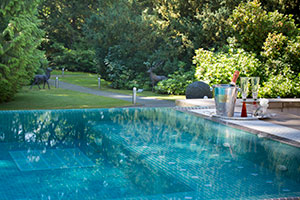 Armathwaite Hall Outdoors pool which is included in the Spa day.jpg