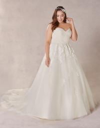 Wedding dress shape ball gown
