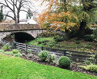 The Bridge Prestbury - outdoors in the grounds