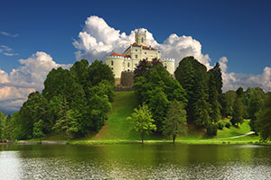 Castle - Croatia honeymoon