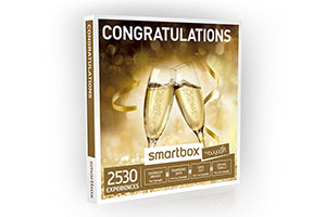 The perfect wedding gift - Congratulations Smartbox