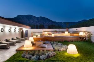 d spa terrace with jacuzzi