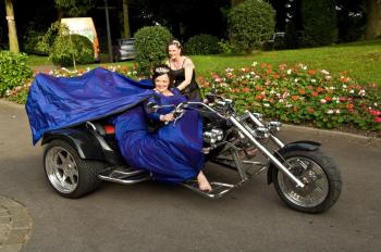 Seven different modes of wedding transportation designed to turn heads!