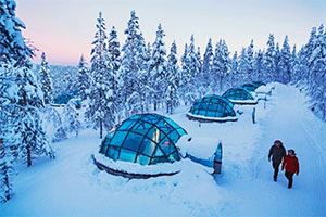 Finnish winter honeymoon