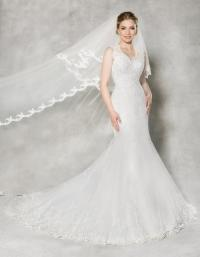 Wedding dress shape Fishtail