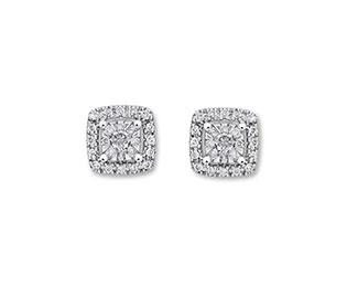 Goldsmiths wedding jewellery - earrings