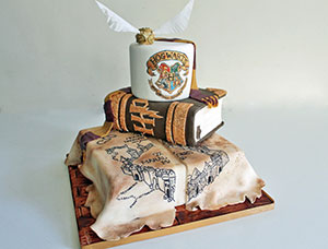 Geeky Wedding Cakes From Debbie Gillespie Cake Design