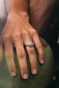Jakob Owens engagement ring