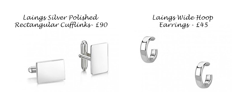 Laings Silver - wedding jewellery