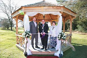 New outdoor wedding venue