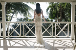 Balcony lone star, Luxury Wedding, Barbados