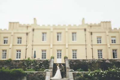 Pentillie Castle, Cornwall historic wedding venue