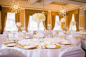 Summer wedding venue