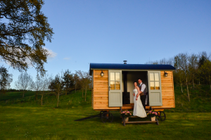 Shepherd Huts romantic addition to British weddings