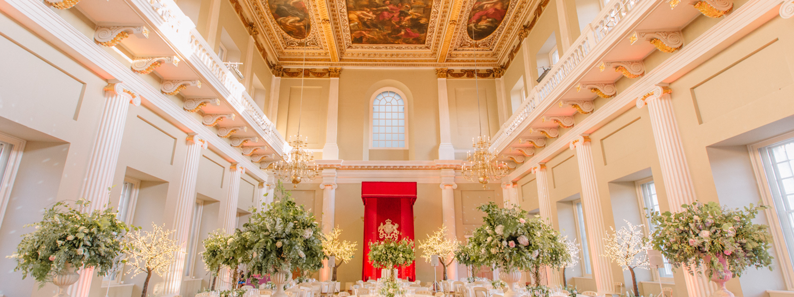 Banqueting House Wedding credit Holly Clark Photography