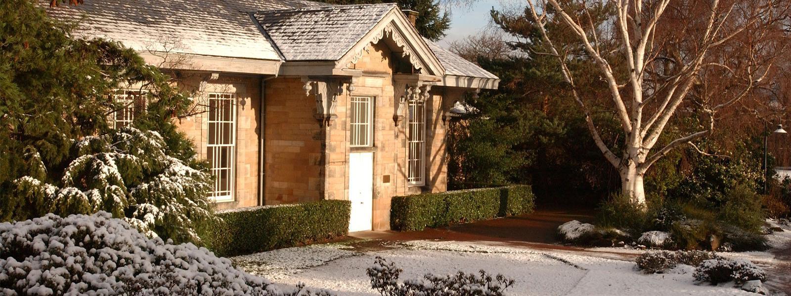 Royal Botanic Garden Edinburgh unveils winter wedding offer