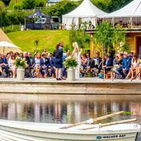 A celebrant wedding on a lake