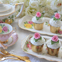 Afternoon tea at a vegan wedding