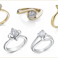 Arctic Diamonds Engagement ring bridal collection