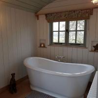 Shepherd Hut bridal suite