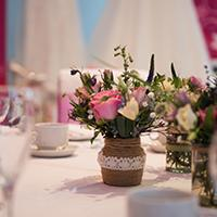 Luxury New Forest hotel wedding breakfast