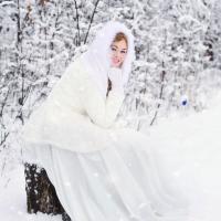 Winter wedding makeup
