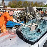 Unique Stag Do Ideas - car smash