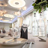 Vow renewals catering at Chester Hotel