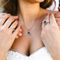 Colourful gems - The Ultimate Guide to Choosing Bridal jewellery