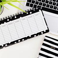 Working at your wedding - time planner