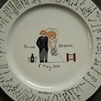 Fired 4 U - Personalised, Hand Painted Wedding Gifts