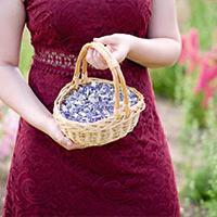Flower girls basket
