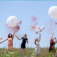 fun factor confetti balloons