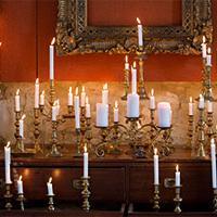 Get knotted wedding lighting