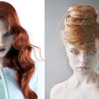 wedding hair - two styles