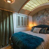 Luxury Shepherd Huts for Honeymooners at The Fish Hotel