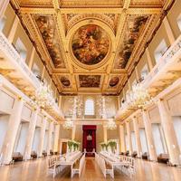 Interior of Historic Royal Palace