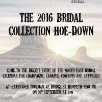 Kathryn S Trueman 2016 Bridal Collection hoe down