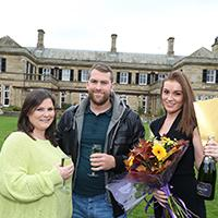Kirkley Hall wedding day winners