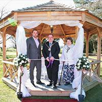 New Hampshire outdoor wedding venue