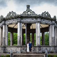 Natalie & Tim's wedding at the Restoration Yard
