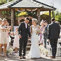 Wedding at Aston Marina's Boat House - credit Charlene Davies Photography