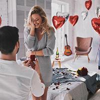 Couple Using La Fête's Proposal Planning Service