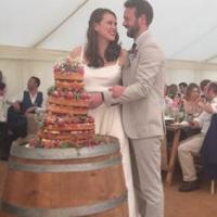 Nick and Hemione celebrate with film festival wedding