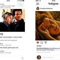 Rom-coms in social media